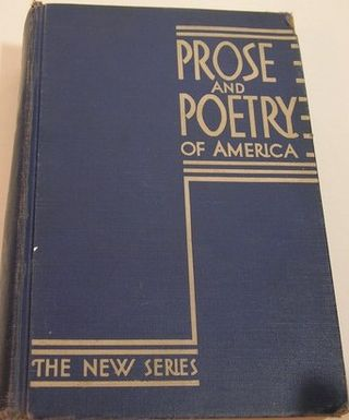 Prose and poetry 1